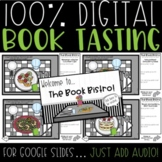 Digital Book Tasting | GOOGLE Classroom | Distance Learning