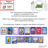 Digital Book Tasting PA Young Reader's Choice Gr3-6 Book N