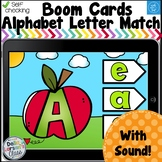 Digital Boom Cards Apple Alphabet Match