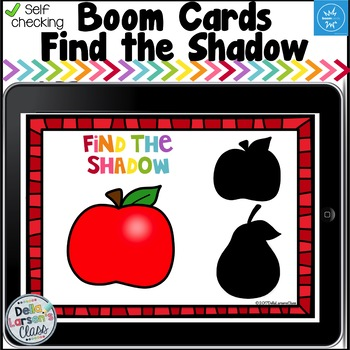 Digital Boom Cards Find the Shadow