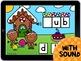 Digital Boom Cards Gingerbread Beginning Sounds