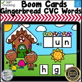 Digital Boom Cards Gingerbread Beginning Sounds Distance Learning