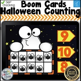 Digital Boom Cards Halloween Ghosts and Spiders Ten Frames