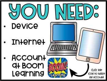 Digital Boom Cards Matching Letters | Easter Theme #DistanceLearningTPT