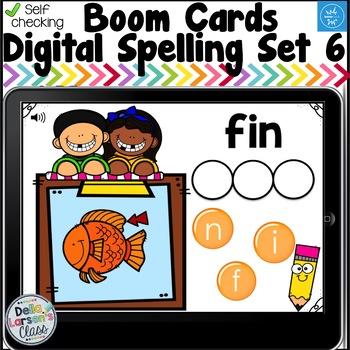 Digital Boom Cards Spelling CVC Words Set 6 with Ii Word Families