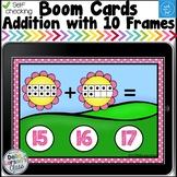 Digital Boom Cards Spring Teen Numbers