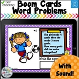 Digital Boom Cards  Spring Word Problems