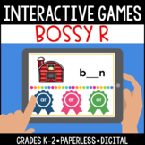 Interactive, Digital and Paperless Bossy R Games