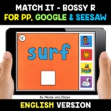 Digital Bossy R Word Work for Google and Seesaw 2 - Distan