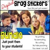 Digital Brag Stickers™