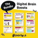 Digital Brain Boosts Bundle | Distance Learning