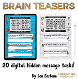 Digital Brain Teasers For Teens