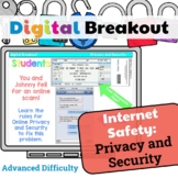 Digital Breakout 3-5 Internet Safety: Privacy and Security