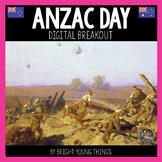 Digital Breakout Activity - Anzac Day