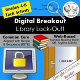 Digital Breakout Activity - Library Lock-Out! March Reading Digital Escape Room