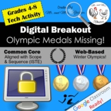 Digital Escape Room Olympic Medals Missing Winter Olympics Digital Breakout