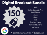 Digital Breakout Bundle: 150 Breakouts! (Distance Learning