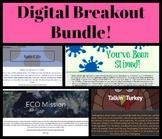 Digital Breakout Bundle: 4 Escape Games!