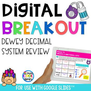 Digital Breakout - Dewey Decimal System Review