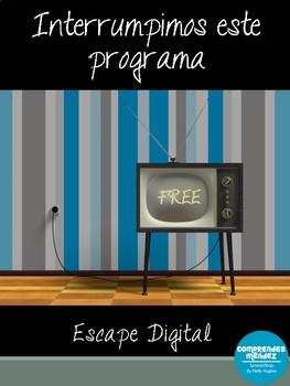 Escape digital: Interrumpimos este programa