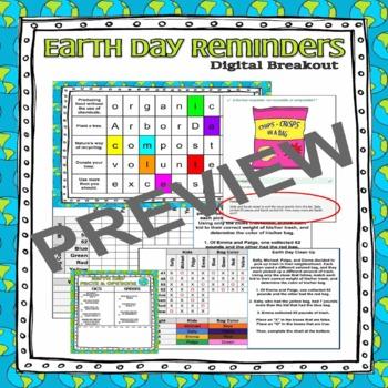 Digital Breakout Escape Room - Earth Day 2020 by Shen ...