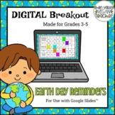 Digital Breakout Escape Room (Google Slides) - Earth Day (3-5)