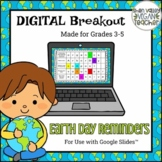 Earth Day (3-5) - Digital Breakout Escape Room (Google Slides)