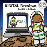 Digital Breakout Escape Room (Google Form) - Back to School (GR3)