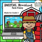 Digital Breakout Escape Room (Google Form) End of Year 3rd Grade