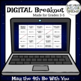 Digital Breakout Escape Room (Google Form) - May the 4th B
