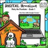 Digital Breakout Escape Room (Google Form) St. Patrick's D
