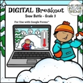 Digital Breakout Escape Room (Google Form) WINTER 3rd Grade