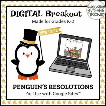 Digital Breakout Escape Room - New Year Digital Breakout