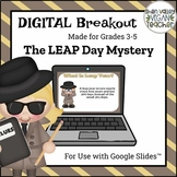 Digital Breakout Escape Room (Google Slides) - Leap Day (3-5)