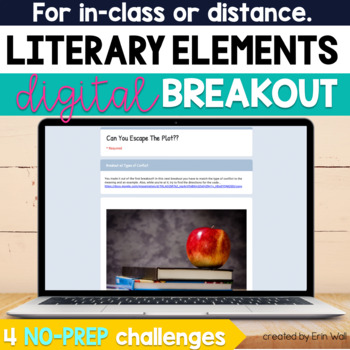 Digital Breakout/Escape Room - Literary Elements