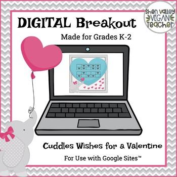 Digital Breakout Escape Room - Valentine's Day Digital Breakout