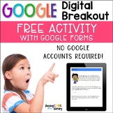 Digital Breakout - FREE Activity using Google Forms