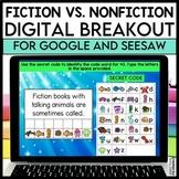 Digital Breakout ~ Fiction vs. Nonfiction