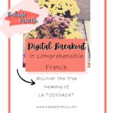 Digital Breakout   Comprehensible French   la Toussaint