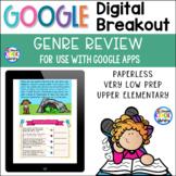 Reading Genres - Digital Breakout