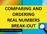 Digital Breakout Google Slides- Comparing Real Numbers for