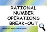 Digital Breakout Google Slides- Rational Number Operations