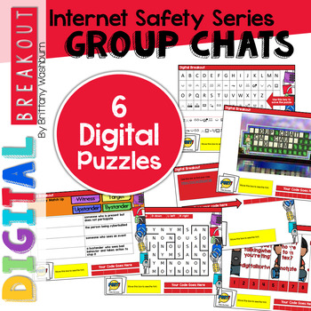 Digital Breakout Internet Safety: Group Chats