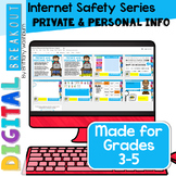 Digital Breakout Internet Safety: Private and Personal Info