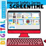 Digital Breakout Internet Safety: Screentime