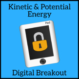 Kinetic & Potential Energy Escape Room Digital Breakout Unlock the Box Activity