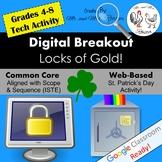 St. Patrick's Day Digital Breakout St. Patrick's Escape Room
