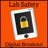 Digital Breakout - Science Lab Safety - Escape Room, Unloc