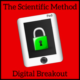 Scientific Method Escape Room, Digital Breakout, Unlock The Box Activity