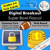 Digital Breakout - Super Bowl Fiasco! | Super Bowl Digital Escape Room